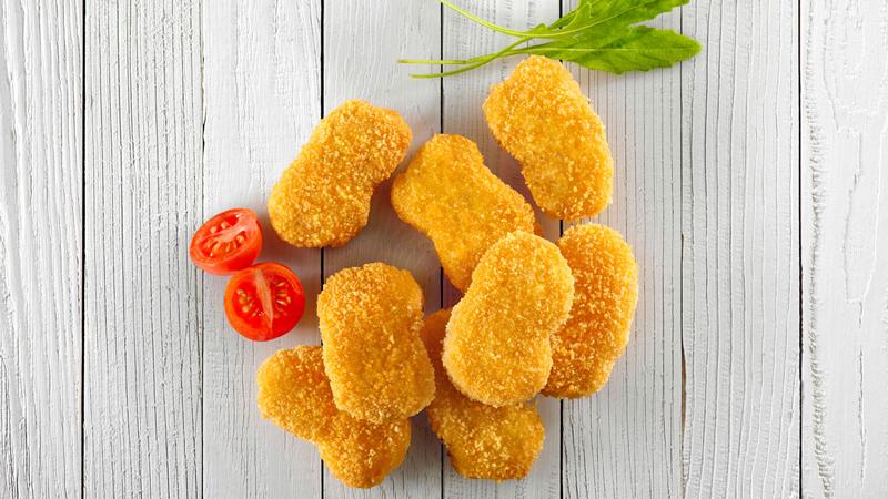 Breaded chicken (Nuggets)