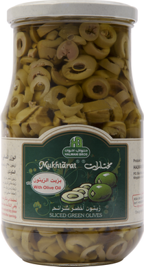 Sliced Green Olives