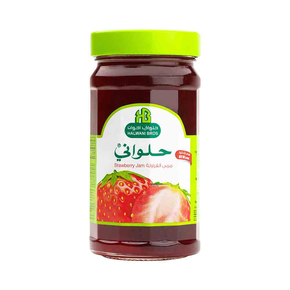 Strawberry Preserved Jam
